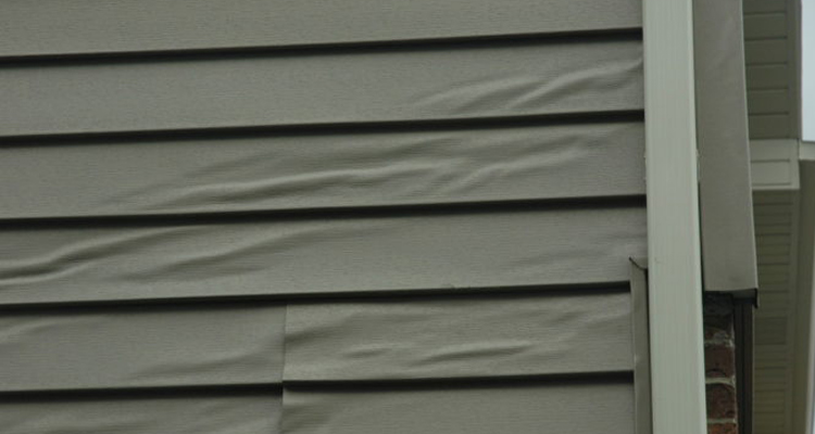 Melting-vinyl-siding